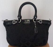 AUTHENTIC COACH MADISON OP ART SOPHIA SATCHEL HAND BAG PURSE 18650 BLACK $398