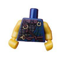 Lego Torso Highland Battler dunkelblau + gelbe Arme Hände Neu 973pb1062c01
