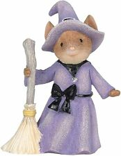 Too Cute to Spook 6006559 Tails with Heart Halloween witch mouse mice Enesco Z