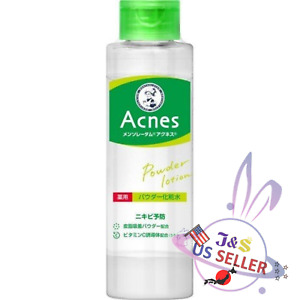 Rohto Mentholatum Acnes Powder Facial Lotion 180ml - US Seller