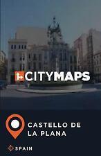 City Maps Castello de la Plana Spain by James McFee (2017, Paperback)