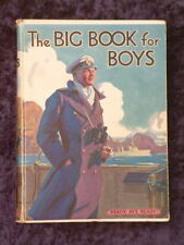 Herbert Strang (ed) - The Big Book for Boys HC 1934 collection adventure stories