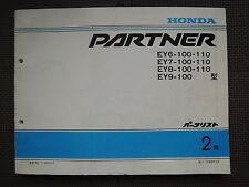 JDM HONDA PARTNER EY6 EY7 EY8 EY9 Original Genuine Parts List Catalog