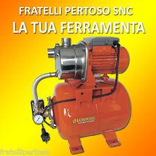 GRUPPO AUTOCLAVE AXC1100/22 hp 1,0 PRESSURIZZAZIONE ELETTROPOMPA AUTOADESCANTE