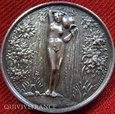 MED2846 - MEDAILLE SOC. EAUX DE TROUVILLE 1879 MEISSENBOURG - FRENCH NUDE MEDAL