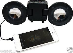 Mini Portatil Viaje Bola Altavoz Para IPHONE 6S Plus/ 6S/ 5S/ Se Ipod S8 MP3 New