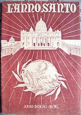 1950 ANNO SANTO GIUBILEO EBRAICO GIUBILEO CRISTIANO RARO LIBRETTO