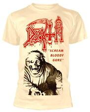 """Death """"Scream BLOODY Gore"""" (Bianco) T-Shirt-Nuovo e Ufficiale!"""