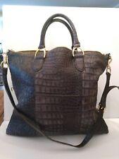 GILI handbag in Gray with crossbody strap