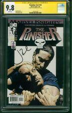 Punisher 10 CGC SS 9.8 Jon Bernthal Auto Bradstreet TV Show Marvel Knights 2002