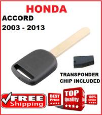 ID46 HONDA ACCORD EURO CAR KEY TRANSPONDER 2003 2004 2005 2006 2007 2008 to 2013