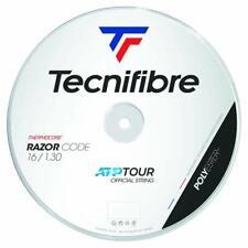 Tecnifibre Razor Code Tennis String - 1.30mm/16G - 200m Reel - White