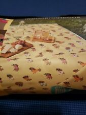 Cynthia Rowley Dachshund Dogs Summer Outdoor Picnic Beach Blanket NWT