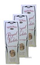 Royal Violets Agustin Reyes 5 oz Eau de Cologne Glass Bottle (Pack of 3)