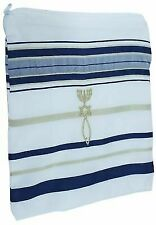 Covenant Prayer Shawl Tallit English Hebrew With Matching Case. 72 22