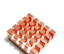Pure Copper Cooling Heatsink Adhesive Heat Sink for VGA RAM DDR Raspberry Pi