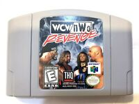 WCW/NWO Revenge N64 Nintendo 64 Original Game Tested + Working & Authentic