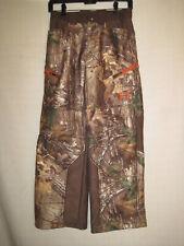 Under Armour Ayton Realtree X-Tra Fleece Lined Camo Hunting Pants Kids Boys M