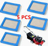 5 Pack Air Filters For Briggs & Stratton 491588 5043 399959 Honda 17211-Zl8-023&