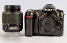 NIKON D50 6.1 MP DIGITAL SLR CAMERA WITH NIKKOR 18-55mm 1:3.5-5.6 G ED LENS-USED