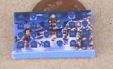 1:12 Scale Empty Christmas Advent Calendar Dolls House Xmas Display Accessory B