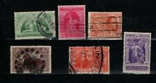 New Zealand 1920 Victory set SG453-58 Used