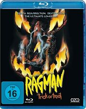 TRICK OR TREAT aka RAGMAN (1986) Ozzy Osbourne Blu-Ray Import NEW Free Ship