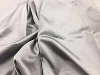 Gray 60inch 2 Way Stretch Charmeuse Satin-super Soft Silky Satin-by The Yard.