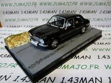 """Peugeot 504 1/43 James Bond """"rien que pour vos Yeux"""" - IXO"""