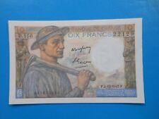 10 francs mineur 4-12-1947 F8/19  NEUF