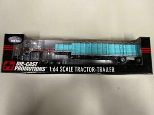 DCP 32127 Landstar Peterbilt 389 w/Step Deck 1:64 Die-cast Promotions First Gear
