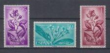 RIO MUNI (1964) NEW FREE STAMP HINGES MNH SPAIN - EDIFIL 42/44 FLOWERS PLANTS