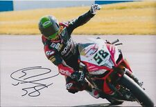 Eugene LAVERTY SIGNED SUZUKI Voltcom Autograph Photo AFTAL COA SUPERBIKE WSB