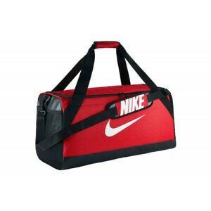 Nike Brasilia Large Training Duffel Bag NEW AUTHENTIC Red/Black/White BA5333-657