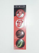Rolling Stones Button Lot of 3 New