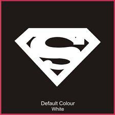 Etiqueta del logotipo de Superman, gracioso, DC Comics, etiqueta engomada, gráficos, coche, N2092