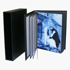 7x5 Portfolio Albums, self-mount photobooks for 20 prints 13x18cm with slipcase