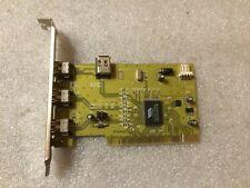 Scheda Firewire VIA VT6306 3+1 porte IEEE1394 PCI
