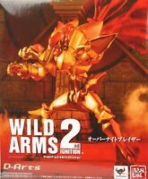 New Bandai D-Arts Wild Arms Over Knight Blazer Tamashii Web LTD Painted