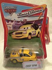 New Disney Pixar Cars Race O Rama Diecast Chief RPM #77