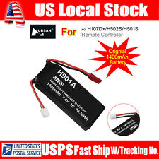 1pc Lipo Battery 1400mAh 7.4V 1C For Drone Transmitter Hubsan H107D+ H502S H501S