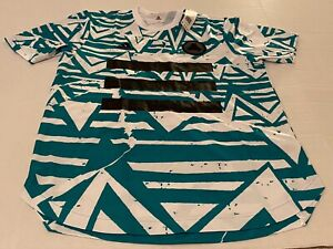 Adidas Tan DNA Graphic No.10 Jersey FM1082 Soccer Football White Glory Green M