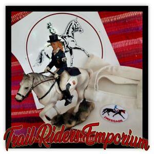 HORSE DRESSAGE Gift Pack - Tote Bag Horse Figurine Float Sticker Value Pack HORS