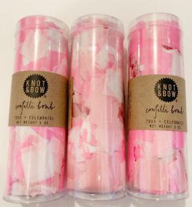 Anthropologie Confetti Bomb 3-pack (Rose/ Pink) **Bulk Discounts**