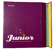 Girl Scouts JUNIOR Guide Manual 2011 Purple Binder Folder