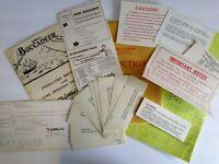 Gottlieb Buccaneer Pinball Manual Game Schematic Diagram Paper Lot Original 1976