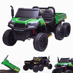 RiiRoo Gatlo Electric 6 x 6 Kids 24V Parrallel Ride on Battery Gator Truck
