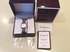 COACH LADIES WATCH 0803 6.834.351 GOLD-TONE TRISTEN, SILVER/GOLD BAND
