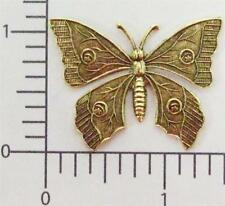 34473         Brass Oxidized Victorian Butterfly Jewelry Finding