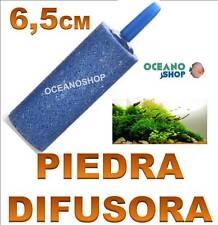 PIEDRA DIFUSORA de 6,5cm compresor Aire Oxigenador CO2  Acuario difusor pecera